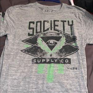 Society t shirt size Medium
